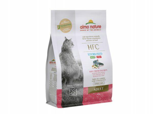 HFC Dry Cats 300g Sterilized - Zalm