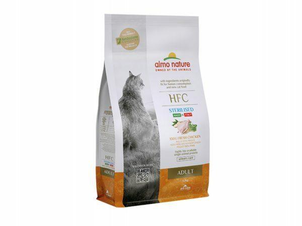 HFC Dry Cats 1,2Kg Sterilized - Kip