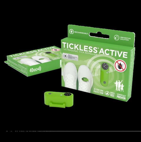 Tickless Human Active Groen oplaadbaar