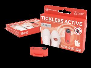 Tickless Human Active Rood tot 12 maanden bescherming