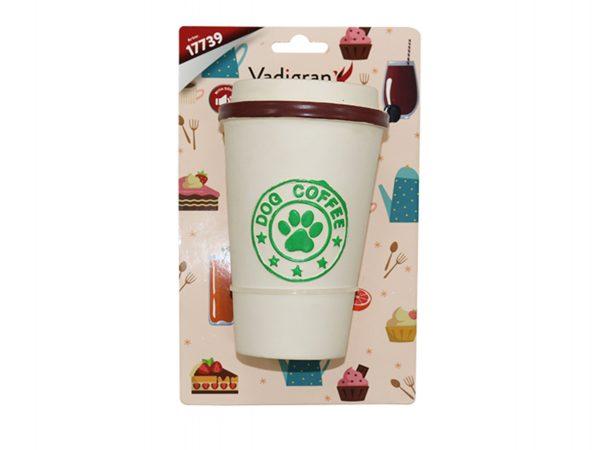 Speelgoed hond latex Dog Coffee 14 cm