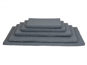 Bench kussen waterafstotend grijs 54x36x3cm