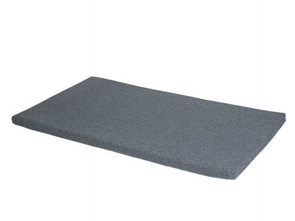Bench kussen waterafstotend grijs 115x66x3cm