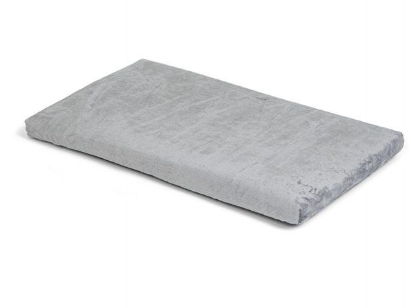 Bench kussen Zachte pluche grijs 67x40x3cm