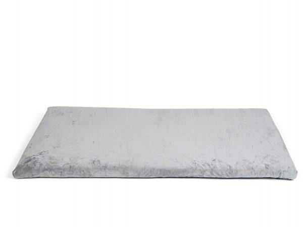 Bench kussen Zachte pluche grijs 115x66x3cm