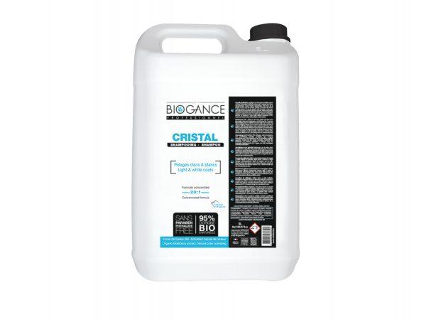 CRISTAL hond witte vacht shampoo 5 L