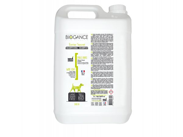BIOGANCE hond ruw haar shampoo 5 L