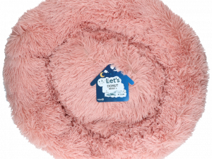 Let's Sleep Donut 60 cm Beige/Roze