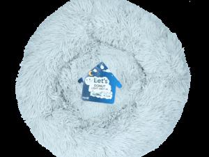 Let's Sleep Donut 50 cm Lichtgrijs