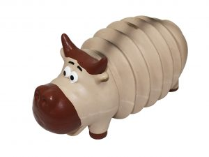 Speelgoed hond latex Buffalo ribble 20cm