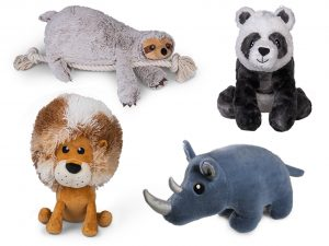 Speelgoed hond pluche Big Rhina 30cm
