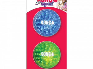 KONG Squeezz® Geodz 2-pk Assorted Lg