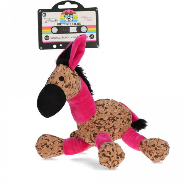 Retrodog Donkey Pink M