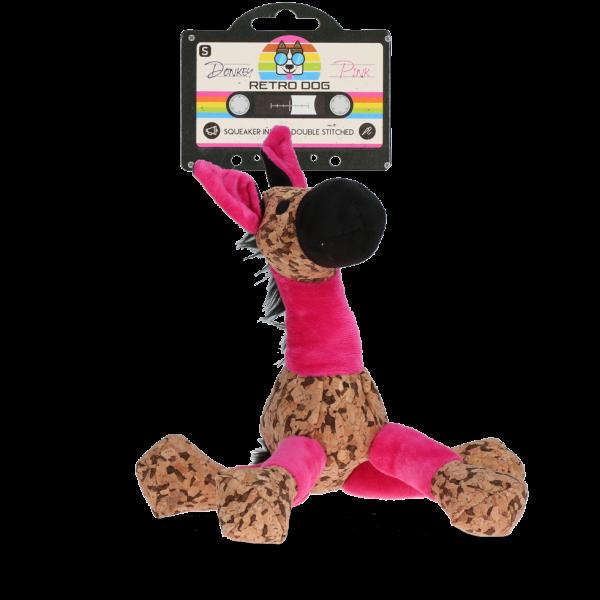 Retrodog Donkey Pink S