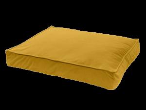 Madison Velours Lounge Cushion Geel L