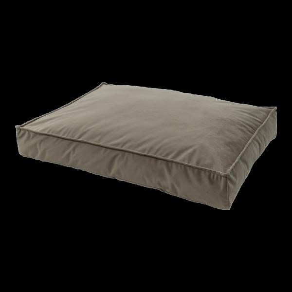 Madison Velours Lounge Cushion Taupe L