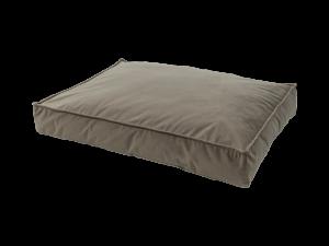 Madison Velours Lounge Cushion Taupe M